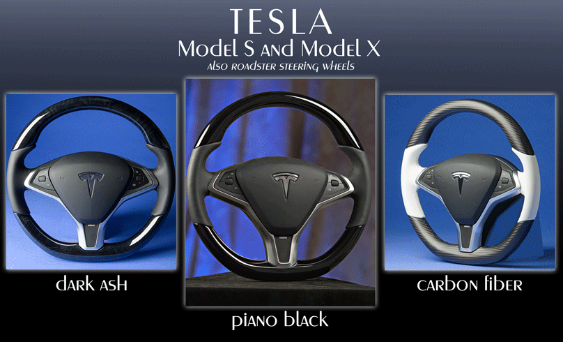 Tesla Steering Wheels