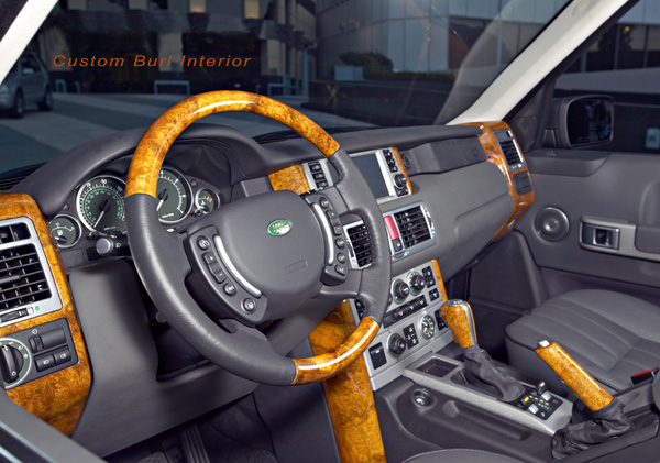 Chilean Burl Steering Wheel Custom Car Interior Range